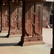 Pillars at Fort Agra in India — Stock Photo #40966781