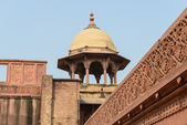 Agra Fort Tourist Destination in India — Stock fotografie