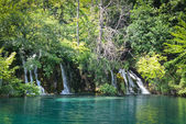 Waterfalls in Plitvice National Park in Croatia — Stock Photo