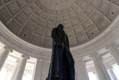 Thomas Jefferson Statue — Stock Photo