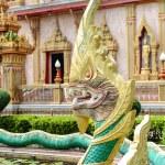 Dragon at Wat Chalong in Phuket — Stock Photo #41874375