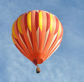 Orange Hot Air Balloon — Stock Photo