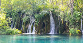 Waterfalls in Plitvice National Park in Croatia — Photo