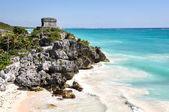 Tulum Mayan Ruins in Mexico — Stock Photo