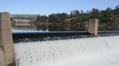 Oroville California Dam — Stock Video