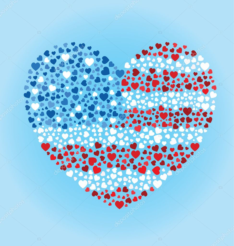 Awesome American Flag Heart Coloring Pages Photos