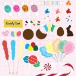 Vector Set: Candy Pieces — Stock Vector #26484163