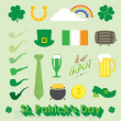 Vector Set: St Patricks Day Icons and Symbols — Stock Vector #41447053