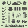 Vector Set: St Patricks Day Icons and Symbols — Stock Vector #41447829