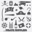 Vector Set: Pirate Supplies Icons and Symbols — Stock Vector #41529277