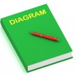 DIAGRAM name on cover book — Stock Photo #12324430