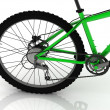 Стоковое фото: Chain, gear and pedal bicycle sport