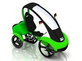 Elektrische fiets velomobiel — Stockfoto