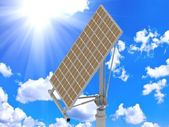 Directional solar panels — Stock Photo