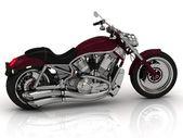 Piękna droga motocykl — Zdjęcie stockowe
