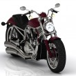 Beautiful road motorcycle — Stock Photo #26496419