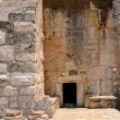 Entrance to the Church of the Nativity in Bethlehem — Stock Photo