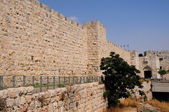 Old City walls — Stock Photo