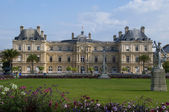 The Palace in the Luxembourg Gardens, Paris, France — Stock Photo