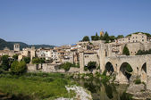 Besalu medieval village, Catalonia, Spain — Stock Photo