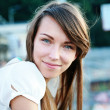Stock Photo: Pretty young woman
