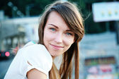 Pretty young woman — Stock Photo
