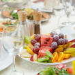 Stockfoto: Elegant table setting in restaurant