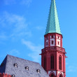Nikolai church in Frankfurt on Main — Stock Photo