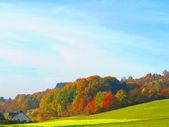 Bavorské hory na podzim — Stock fotografie