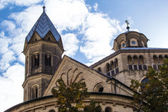 Cologne- St. Aposteln church — Stock Photo