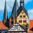 Stock Photo: Gelnhausen in Germany – St. Mary´s church