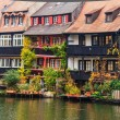 Bamberg  Little Venice in Germany - Stock Photo