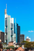 Skyline of Frankfurt on Main — Stock Photo