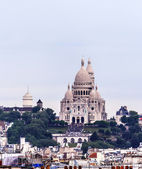 Basilique du Sacre Coeur, Montmartre, Paris — Stock Photo