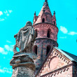 Cathedral Kaiserdom in Worms, Germany - Stock Photo