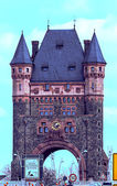 German Nibelungen Bridge in Worms — Stock Photo