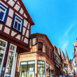 Gelnhausen, historical medieval old town in Germany. — Stock Photo