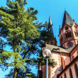 St. Mary church in Gelnhausen, Germany. — Stock Photo