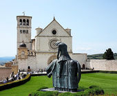 Basilica of St. Francis of Assisi — Stock Photo