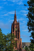 Frankfort cathedral, Germany — Stock Photo