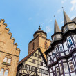 Framework in Alsfeld, old historical town, Germany — Stock Photo