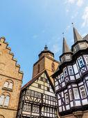 Framework in Alsfeld, old historical town, Germany — Stock Photo