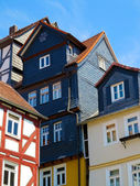 Framework in medieval city Marburg, Germany — Stock Photo