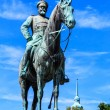 Memorial of Grand Duke Ludwig of Hessen in Darmstadt, Germany — Stock Photo
