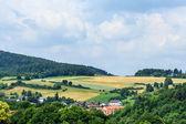 Paisaje en hesse del norte, Alemania — Foto de Stock