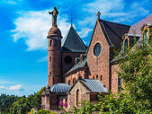 Monastery Sainte Odile of Alsace, France — Stock Photo