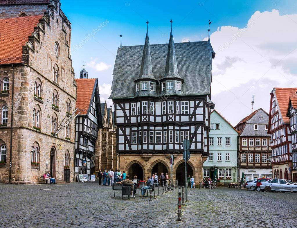 Alsfeld Germany  city photo : ... framed building in Alsfeld, Germany – Stock Editorial Photography