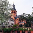 Convent Garden and Basilica in Seligenstadt, Germany — Stock Photo