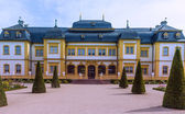 Schloss Veitshöchheim, historic palace with Rococo Garden in Bavaria, Germany — Stock Photo