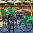 Community bike hire in Strasbourg, France — Stock Photo